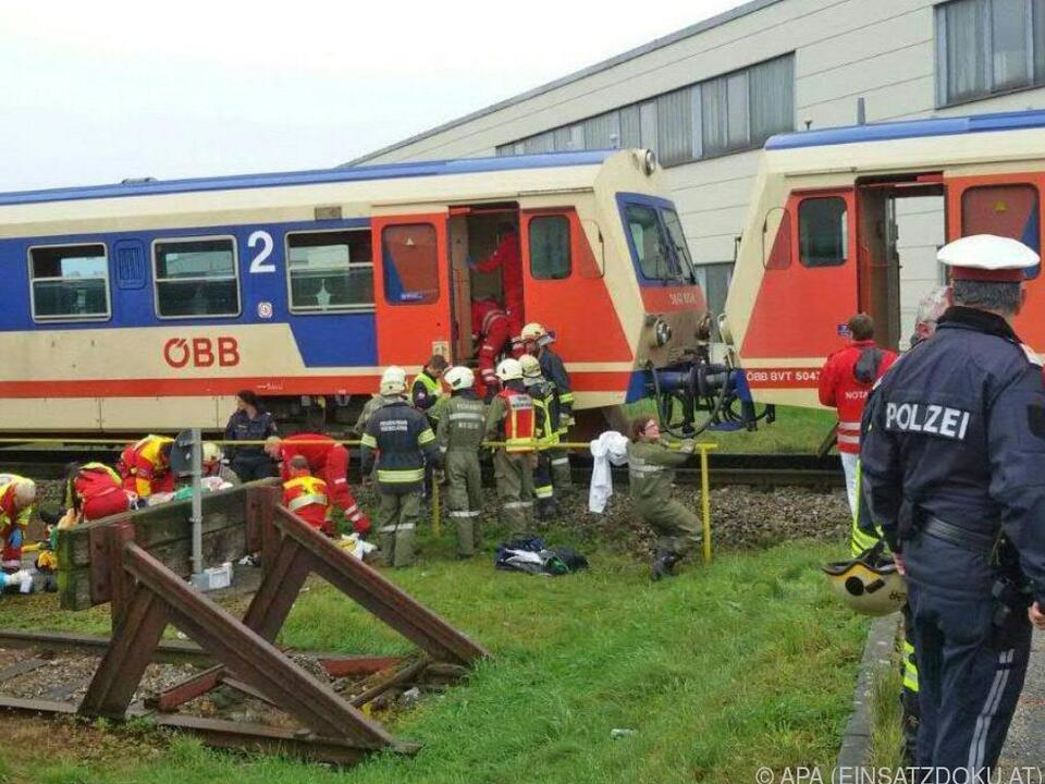 Zugsunglück vom 19. Oktober 2016 in Wieselburg