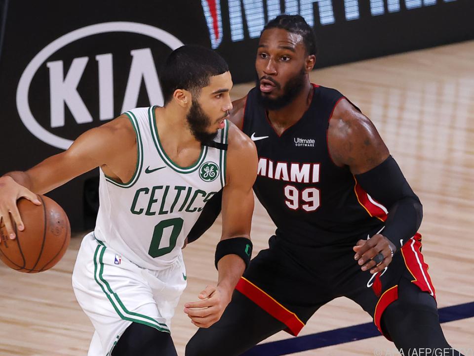 125:113-Sieg von Miami gegen die Boston Celtics