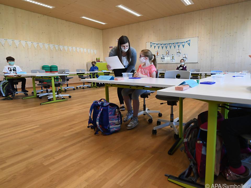 90 Kinder wurden seit Schulbeginn positiv getestet