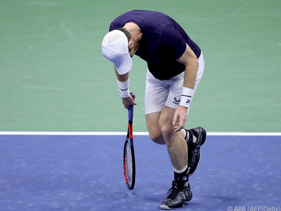 Andy Murray musste sich Felix Auger-Aliassime geschlagen geben