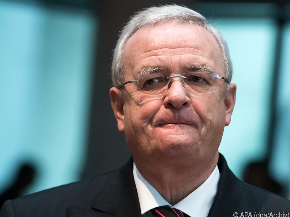 Anklage gegen Ex-VW-Chef Winterkorn zugelassen