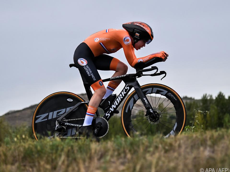 Anna Van der Breggen war in Imola die Schnellste