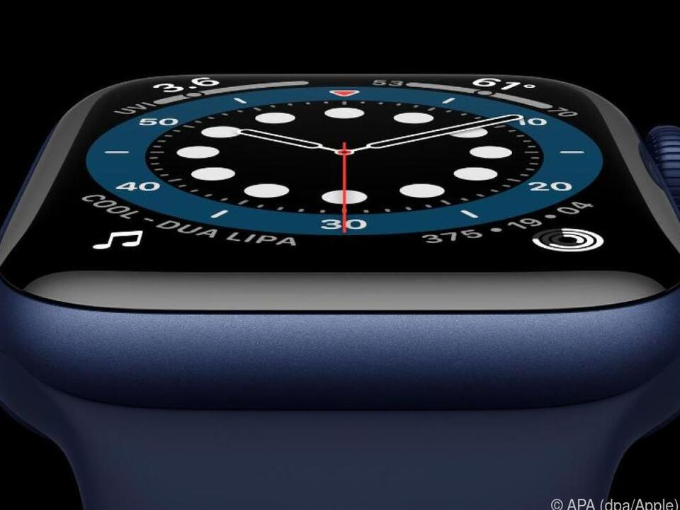 Apple hat die neue Apple Watch Series 6 vorgestellt