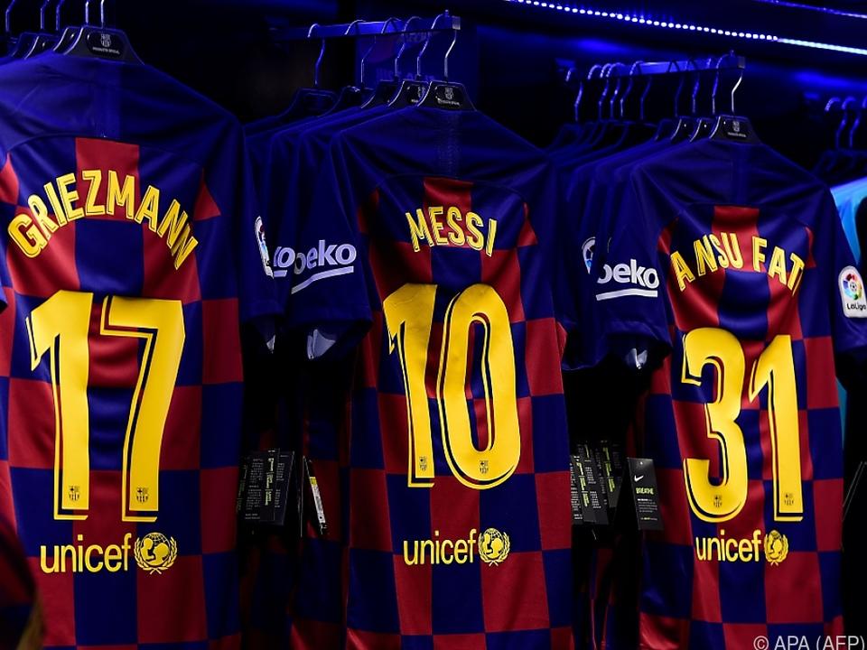 Auf Messi wartet man in Barcelona derzeit vergebens
