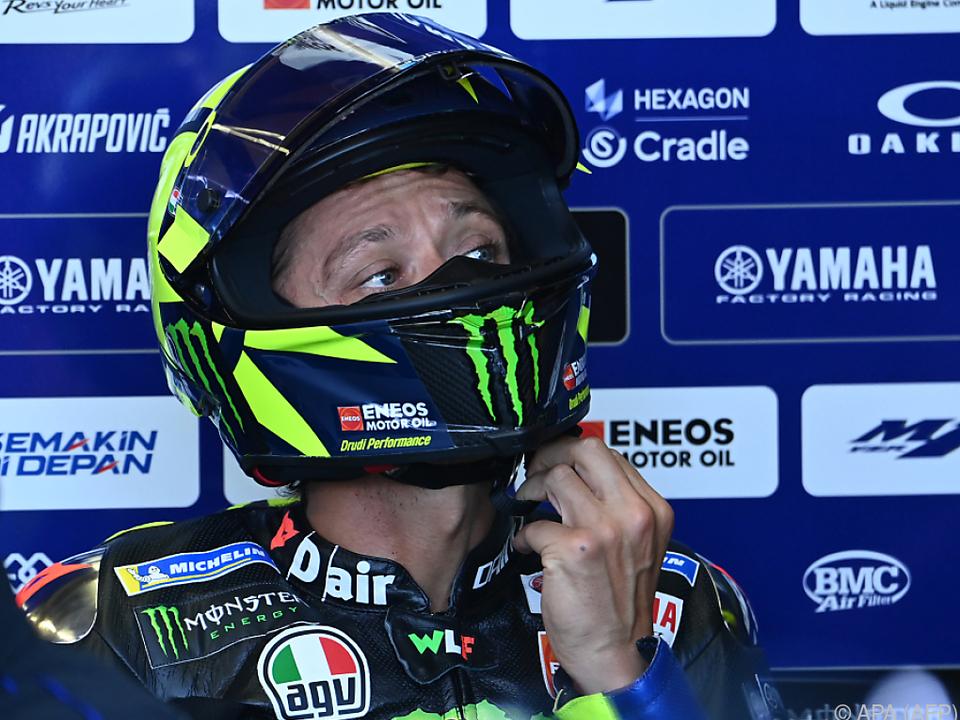 Aufregung um Rossi