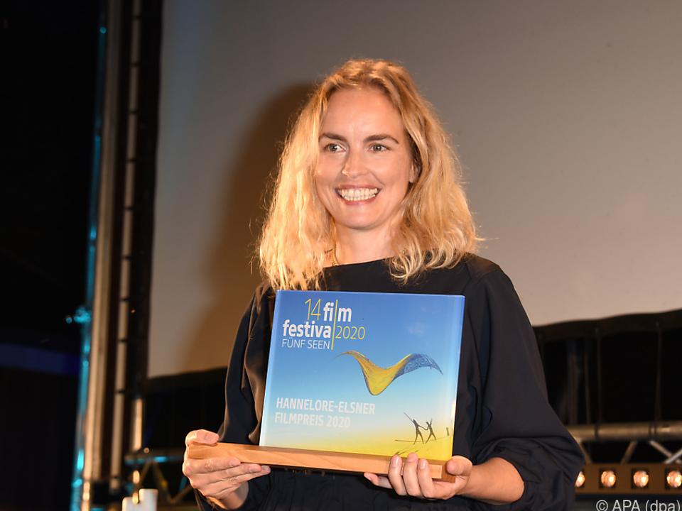 Auszeichnung für die Schauspielerin