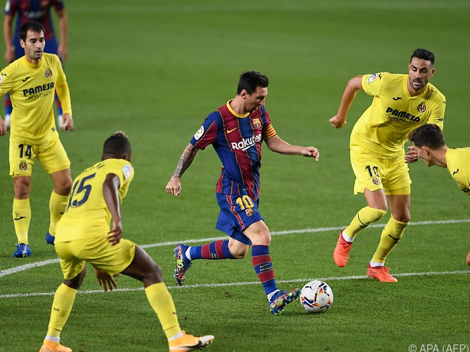 Barcelonas Superstar Messi war nicht in Topform
