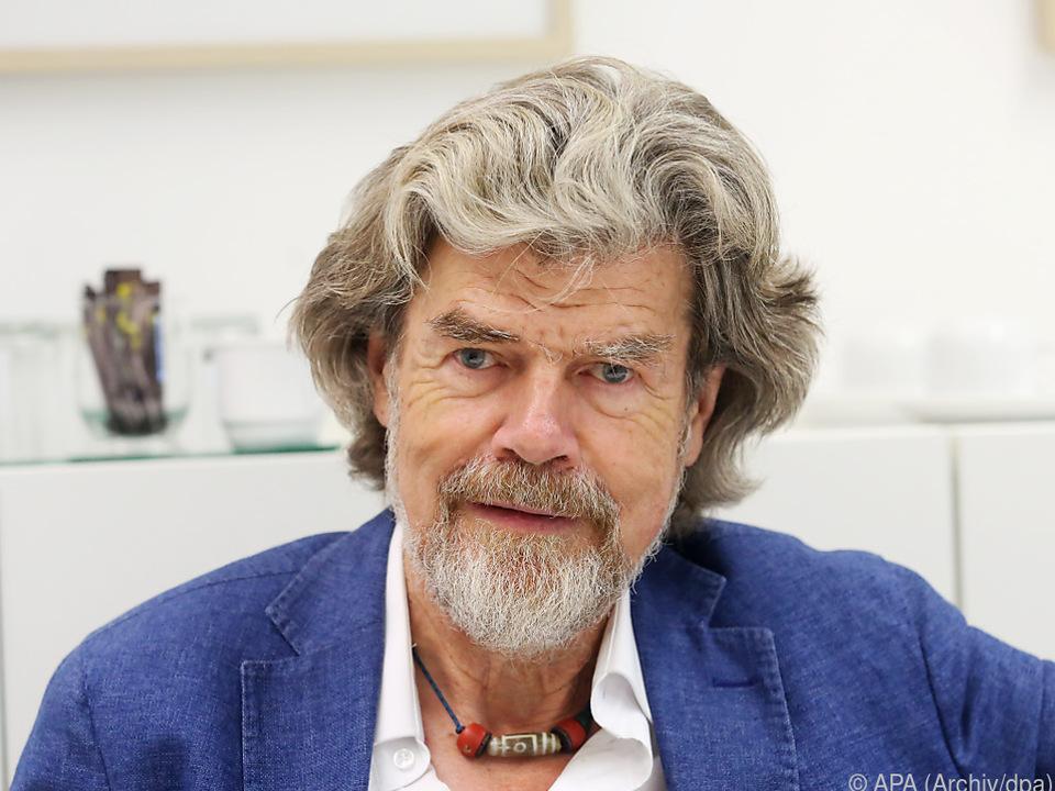 Bergsteigerlegende Messner blickt zurück