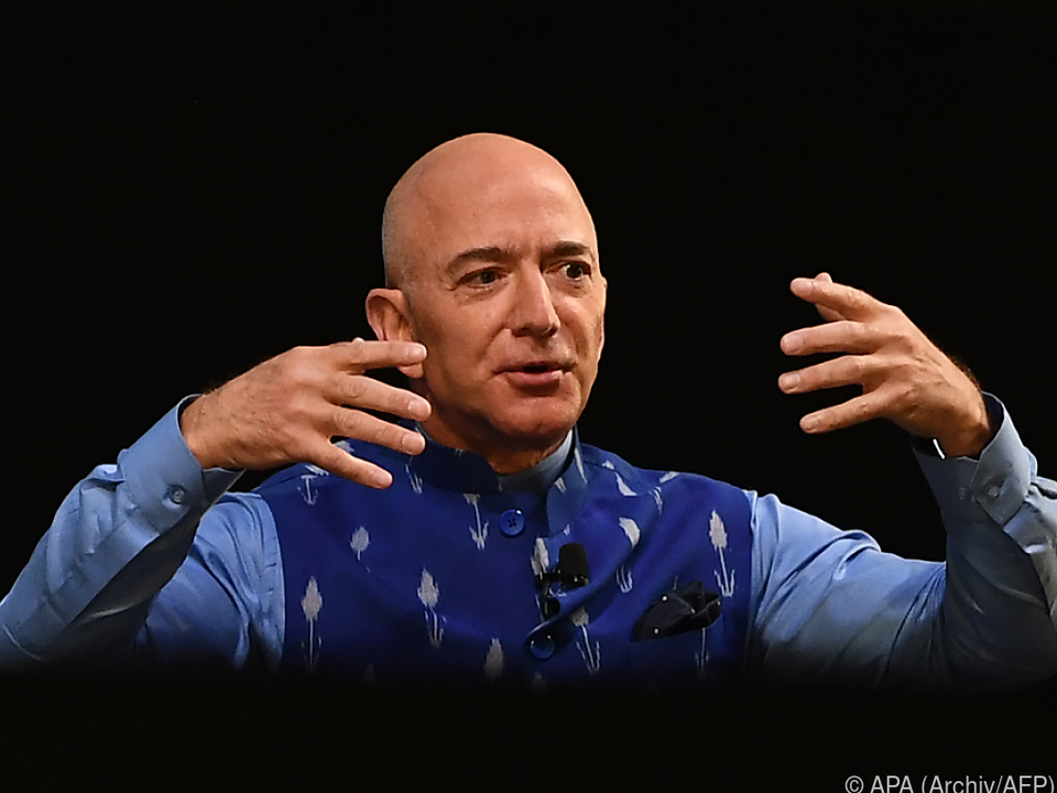 Bezos profitierte als Amazon-Chef von Coronakrise