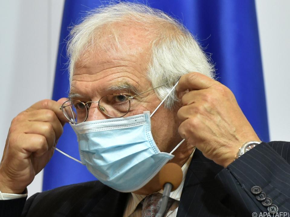 Borrell sprach Lukaschenko das Recht auf das Präsidentenamt ab