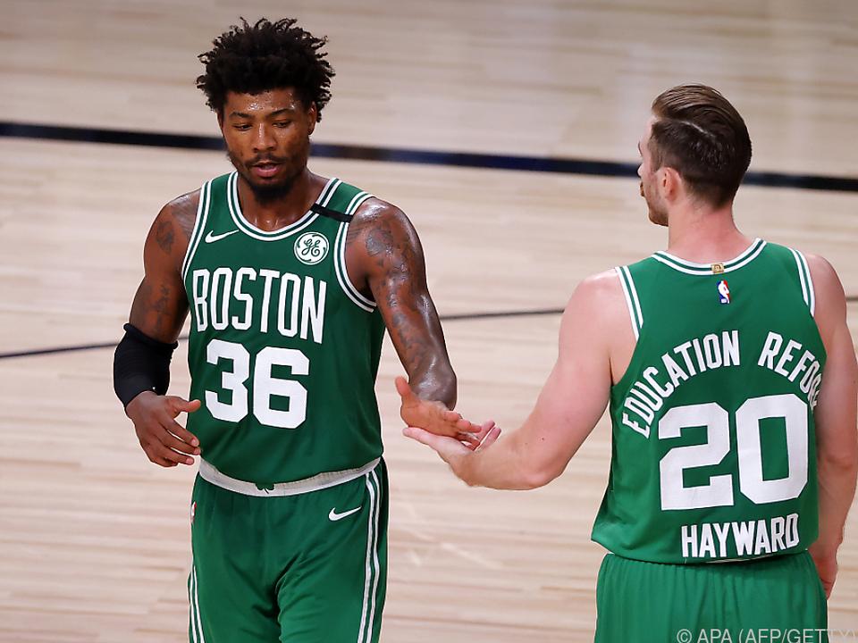 Boston Celtics wieder auf Kurs