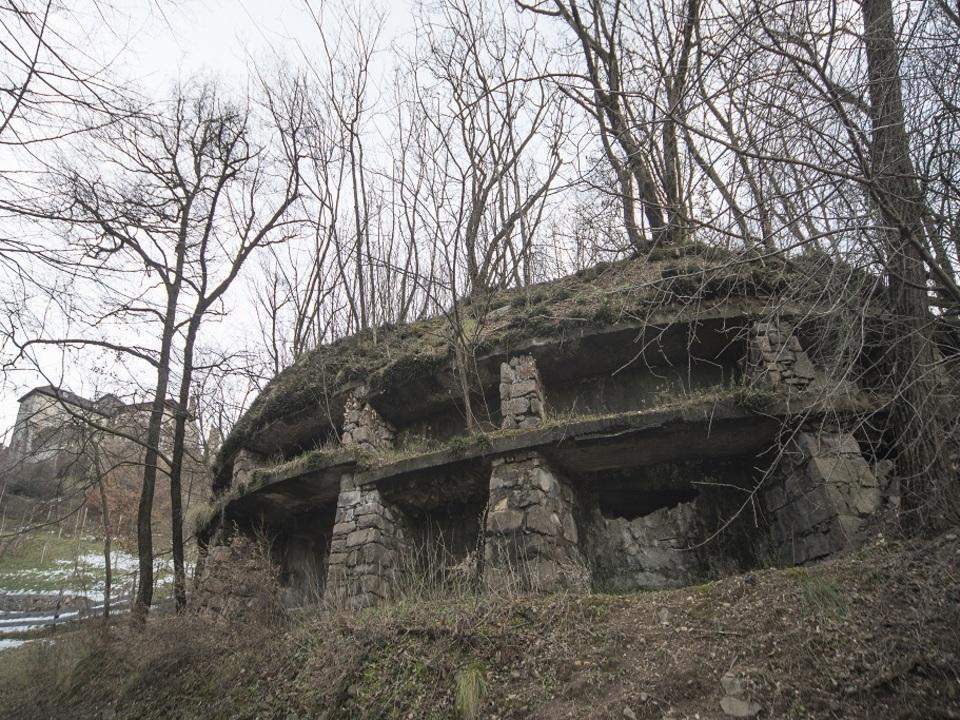 Bunker bei der Haselburg Foto Andrea Pozza