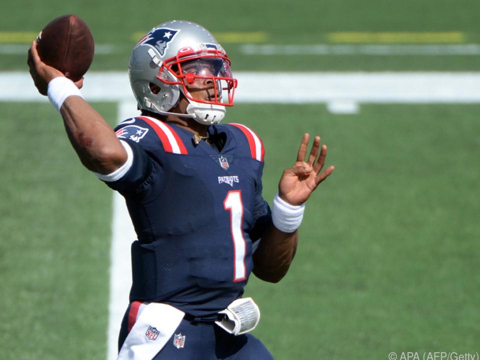Cam Newton führte die Patriots zum Sieg