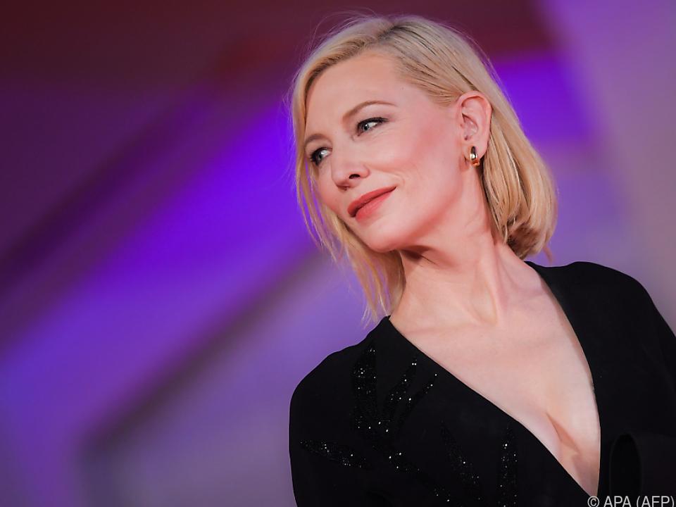 Cate Blanchett ist die Jury-Vorsitzende