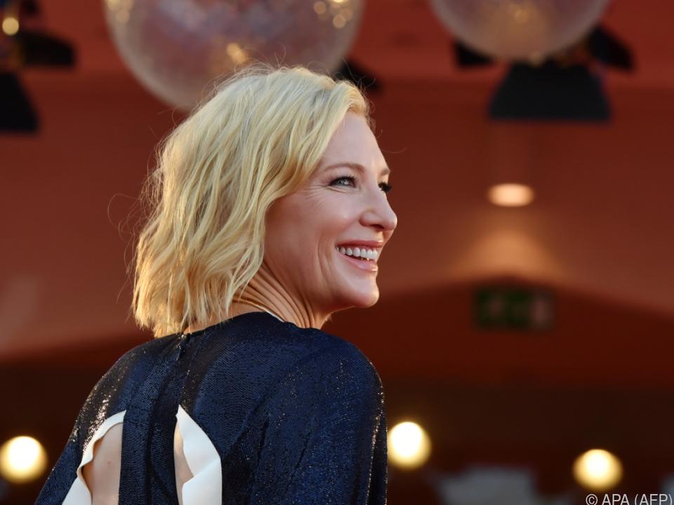 Cate Blanchett unterstützt geschlechterneutrale Preise