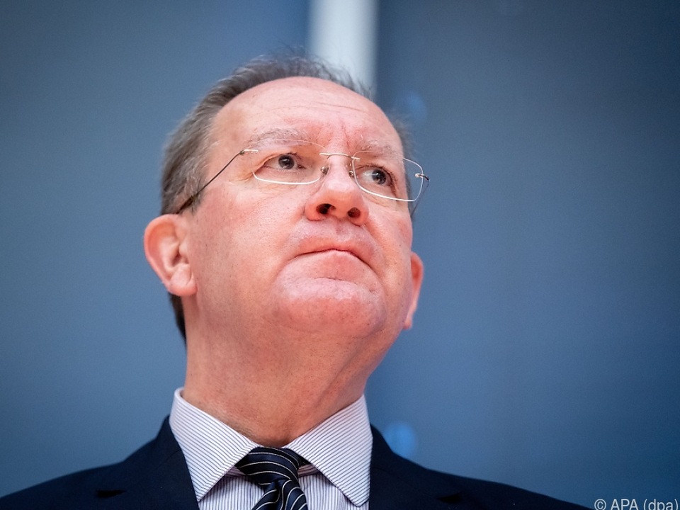 Chef der Finanzaufsicht BaFin, Felix Hufeld