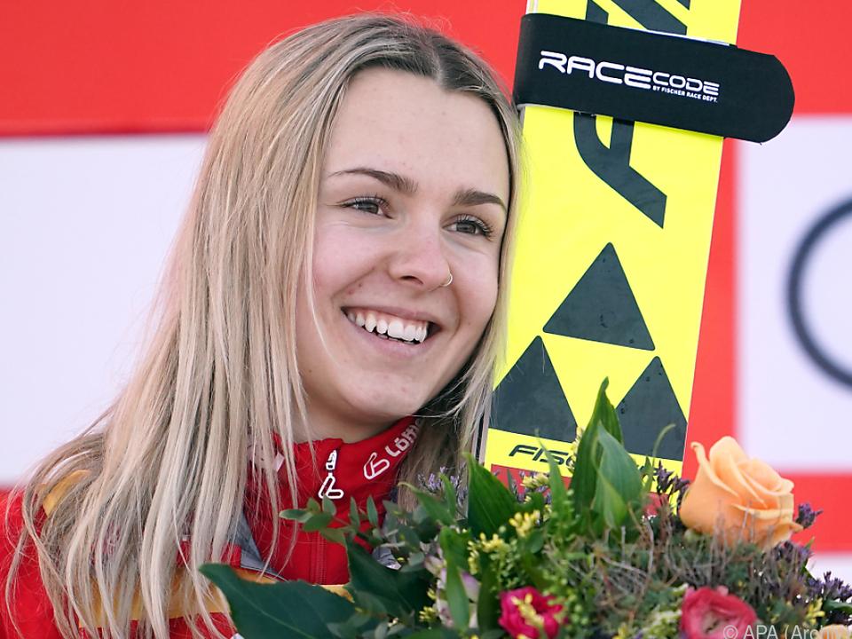 Chiara Hölzl sicherte sich einen Staatsmeistertitel