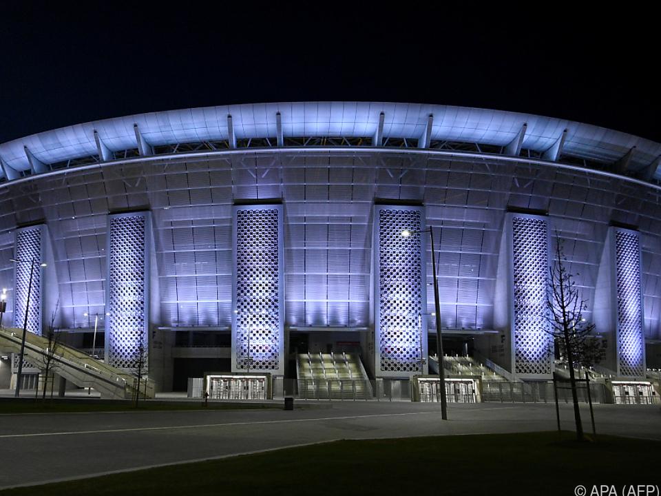 Das Budapester Puskas-Stadion soll Austragungsstätte sein