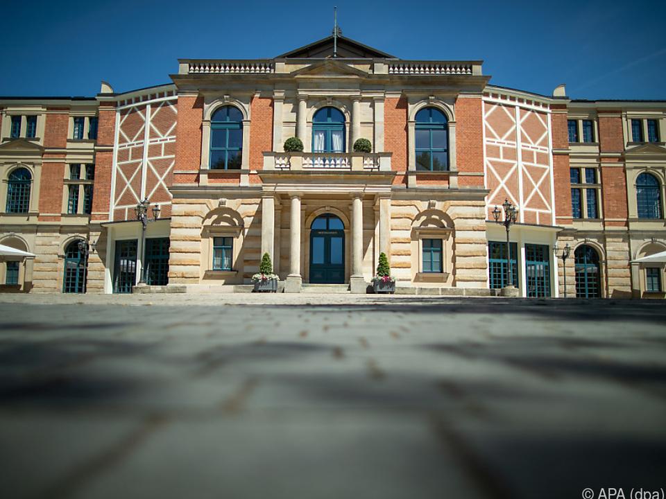 Das Festspielhaus in der oberfränkischen Stadt