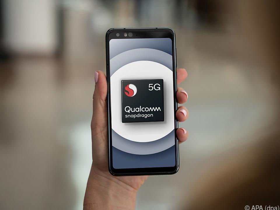 Qualcomm setzt auf Snapdragon-Prozessoren mit 5G