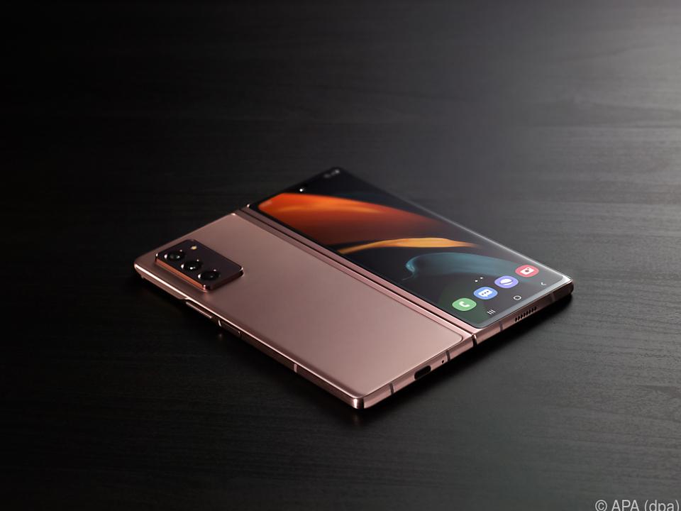 Das Samsung Galaxy Z Fold zählt zu den teuersten Geräten
