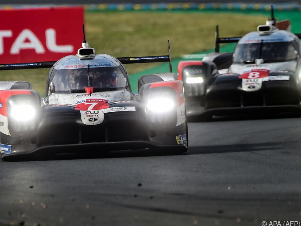 Das Team von Toyota hatte am Ende die Nase vorne