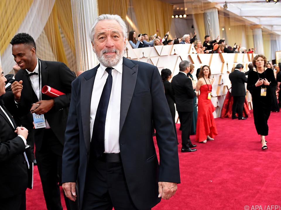 De Niro tritt wieder vor die Kamera