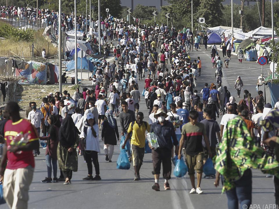 Debatte um Aufnahme von Moria-Flüchtlingen