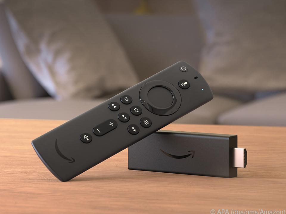 Der Fire TV Stick (40 Euro) kommt mit Unterstützung für HDR und Dolby Atmos