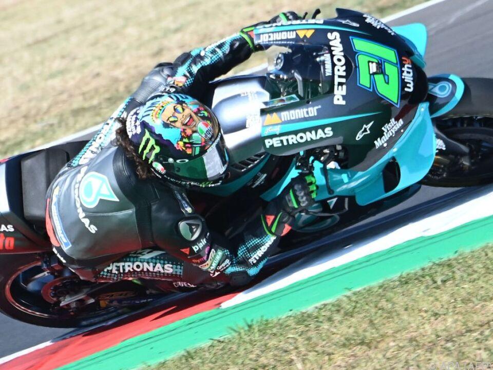 Der Italiener gewann vor seinem Landsmann Francesco Bagnaia auf Ducati