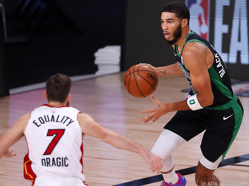 Die Celtics verdankten den Sieg einem starken dritten Viertel