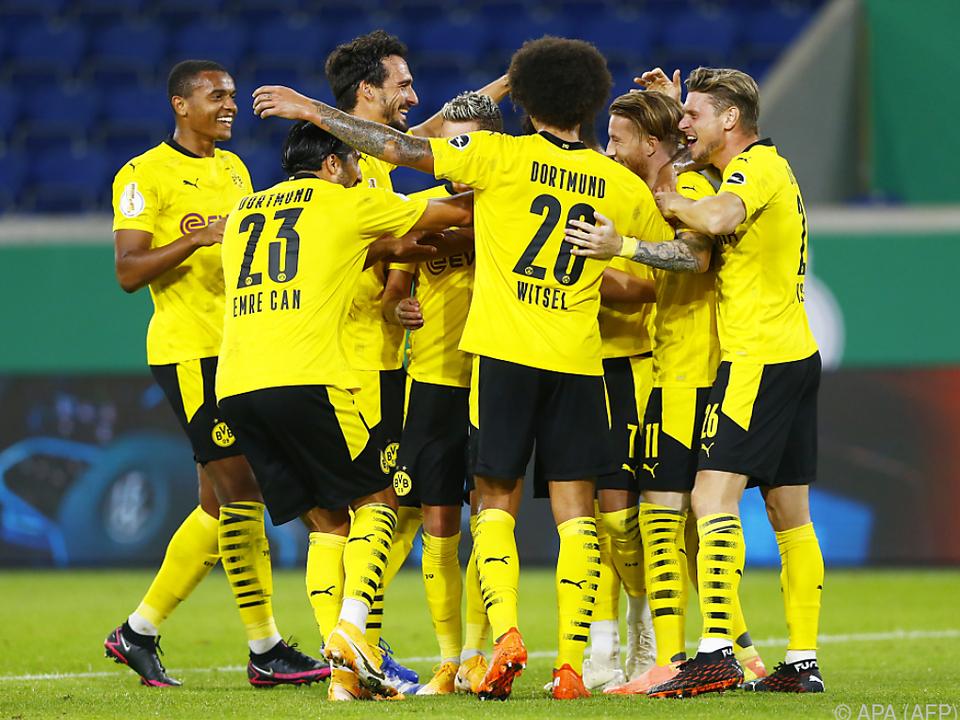 Die Dortmunder ließen nichts anbrennen