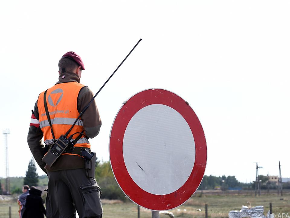 Die Grenzüberwachung soll verstärkt werden