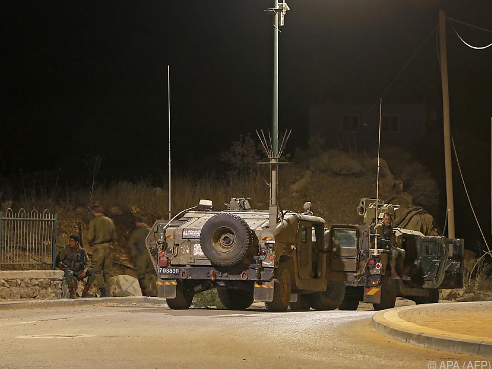 Die israelische Luftwaffe griff Ziele in Syrien an