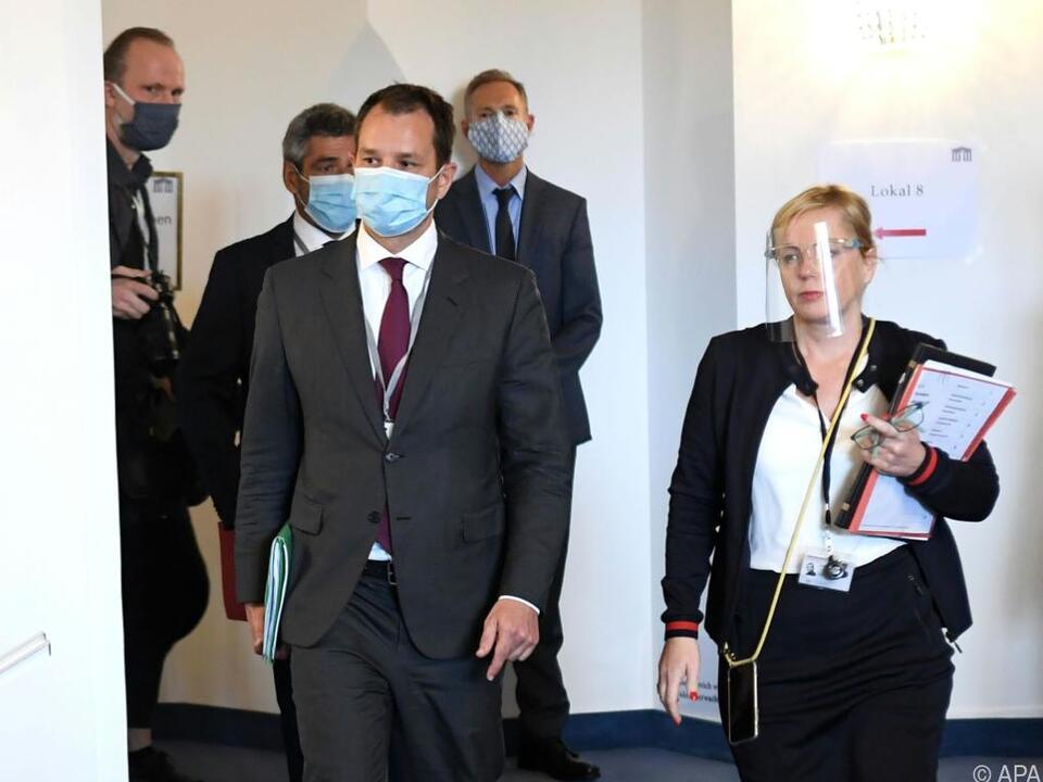 Die Kokain-Sache rund um Schmid sei verjährt, so sein Anwalt