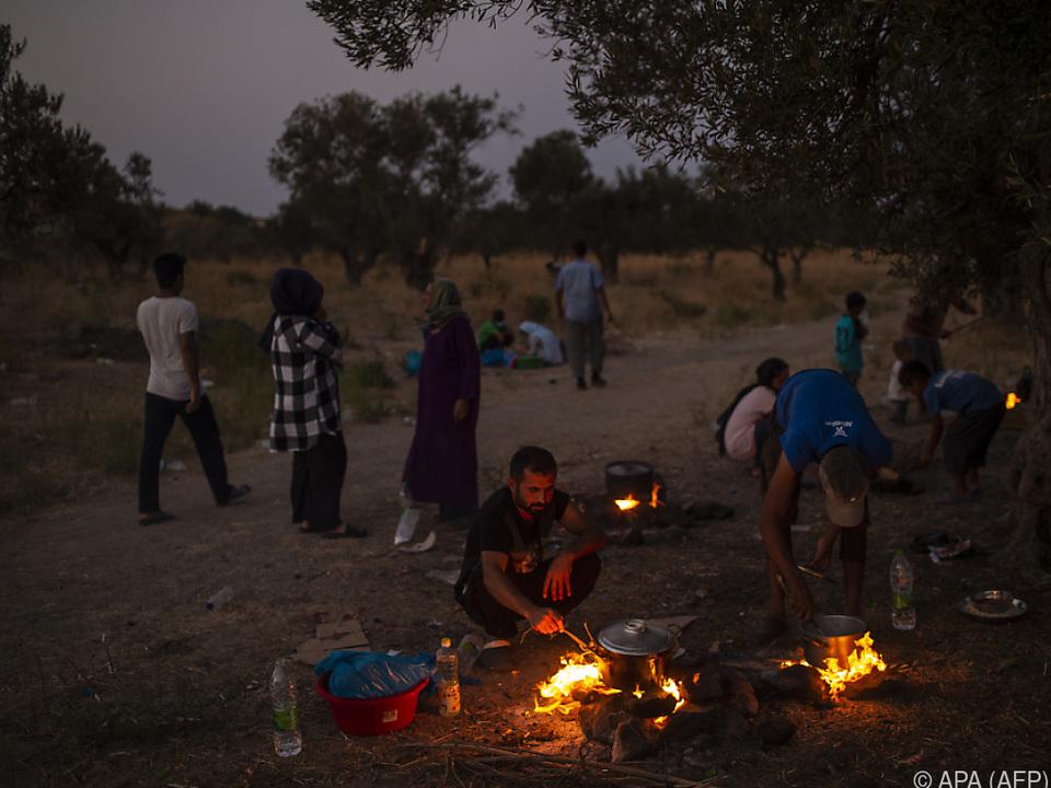 Die Neuansiedlung vieler Migranten dauert an