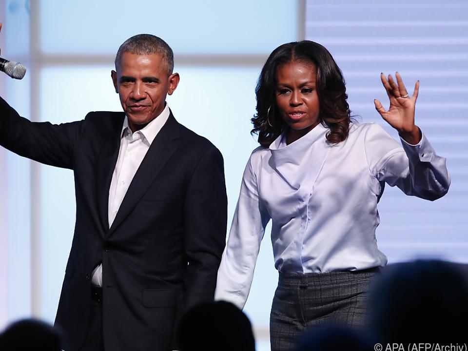 Die Obamas haben eine \