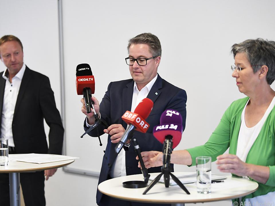Die Opposition in Eisenstadt zieht an einem Strang
