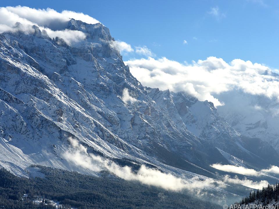 Dieses Bergpanorama braucht keine Zuschauer