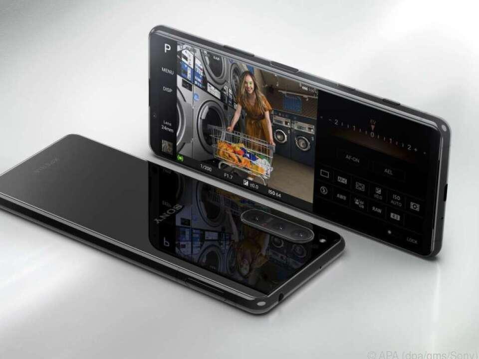 Display und Kamera sind die Spezialitäten des neuen Sony Xperia 5 II
