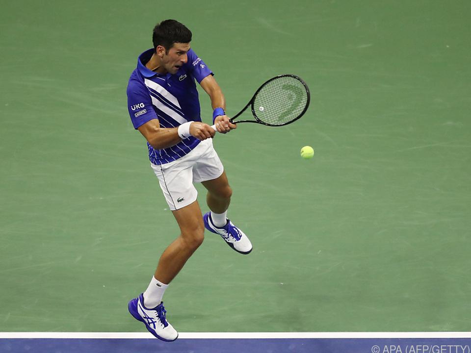 Djokovic startete standesgemäß mit einem Sieg