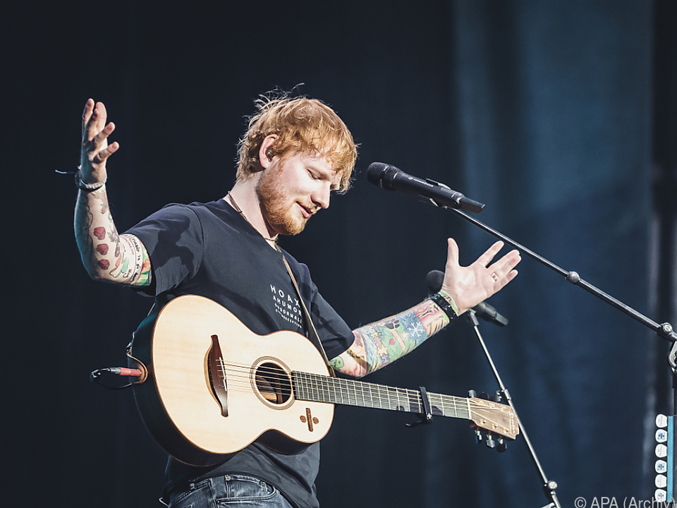 Ed Sheeran ist im Vaterglück