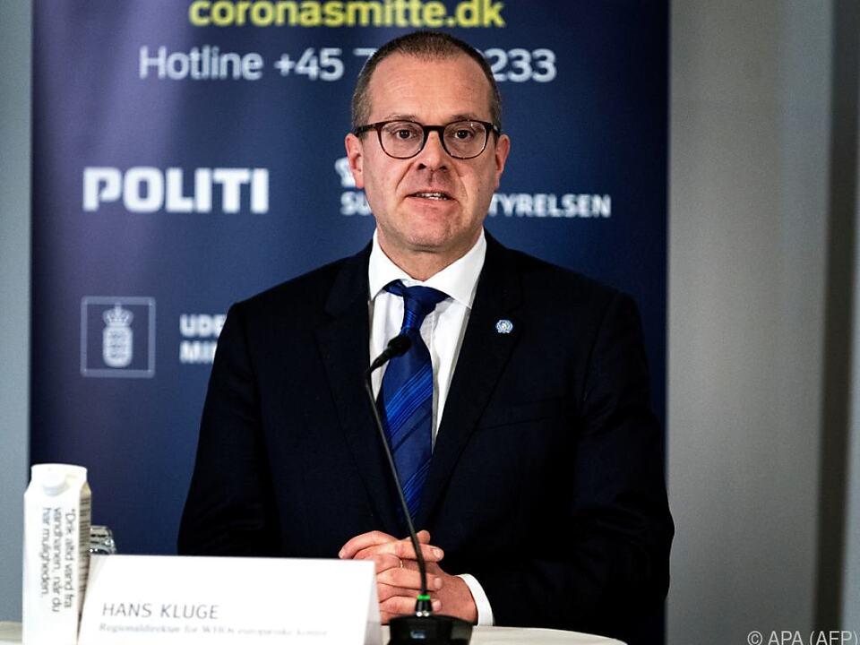 Eindringliche Warnung von WHO-Europadirektor Hans Kluge