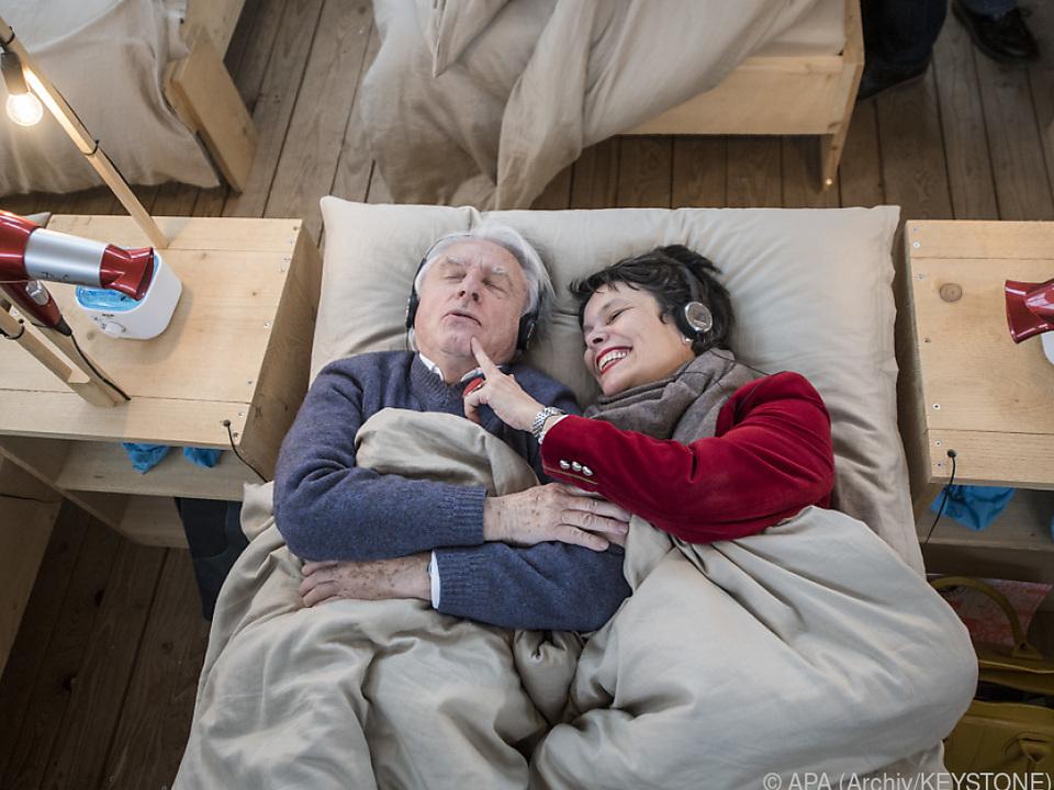 Emil Steinberger und seine Frau Niccel