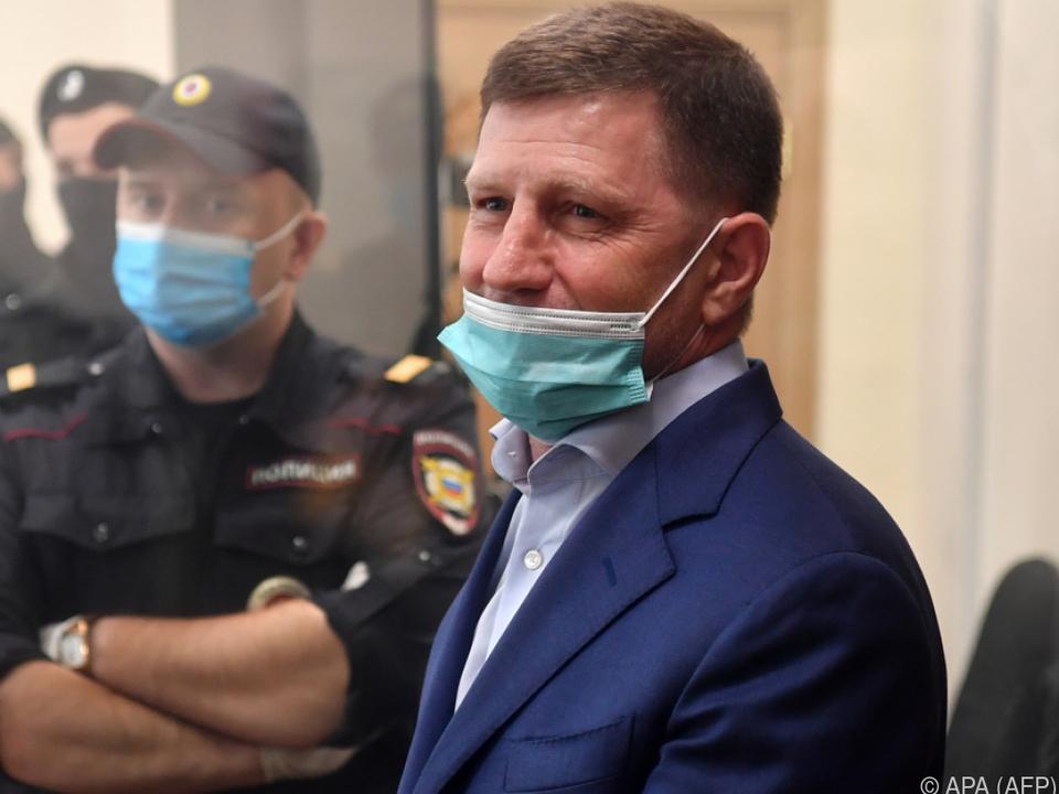 Empörung wegen Festnahme von Ex-Gouverneur Furgal