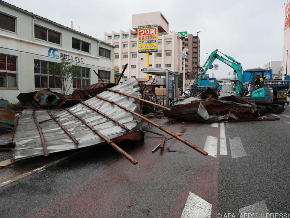 Es ist der zweite Taifun innerhalb einer Woche