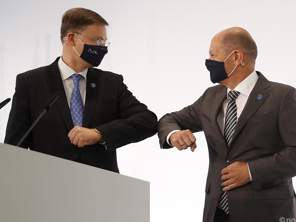 EU-Finanzminister trafen einander in Berlin