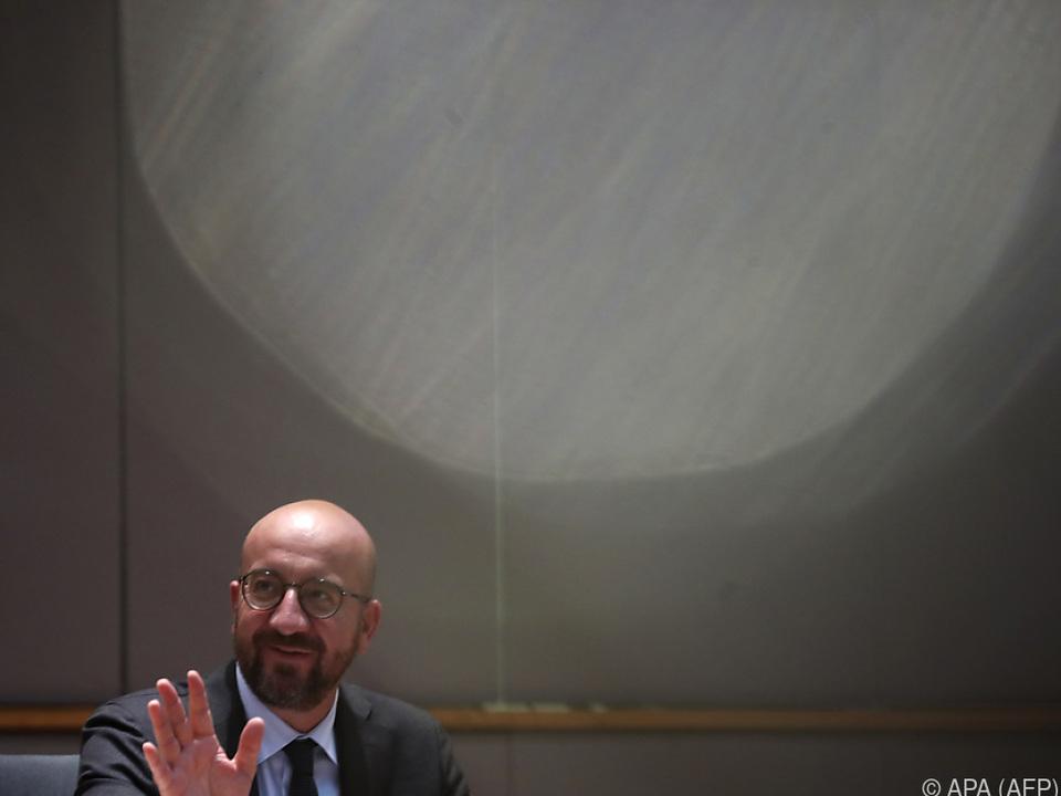 EU-Kommissionspräsident Charles Michel
