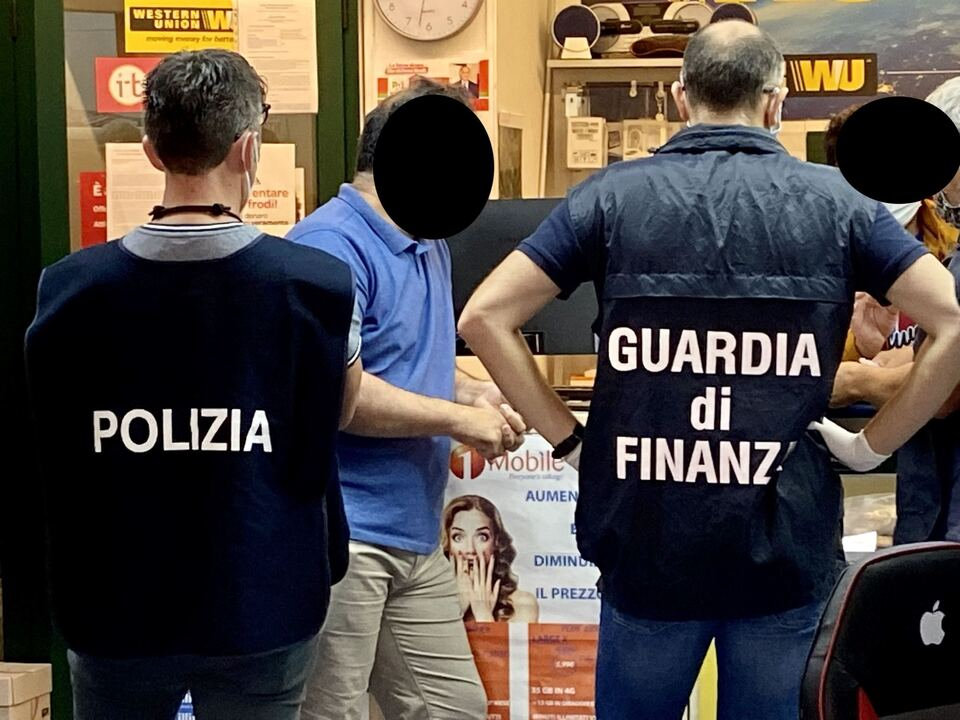 Polizei Finanzpolizei