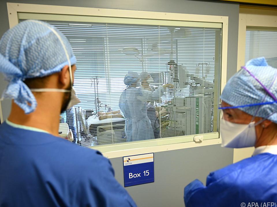 Frankreich wird von der Coronapandemie besonders hart getroffen